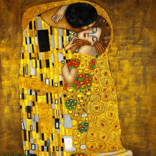 The Kiss Gustav Klimt Art Reproduction