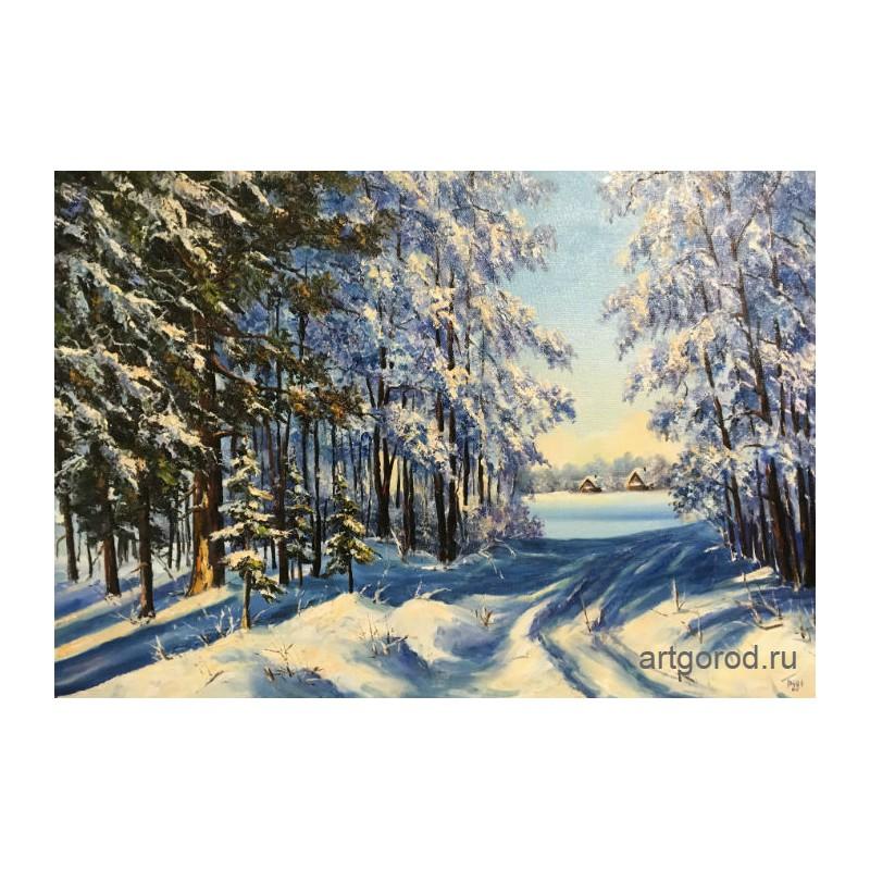 Зимней дорожкой