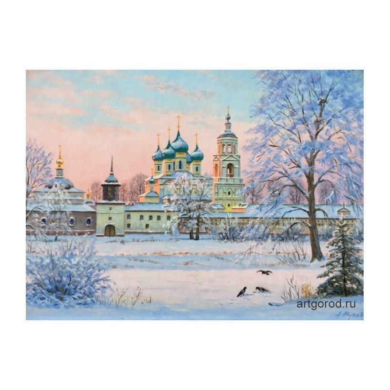 Вид на Толгский монастырь