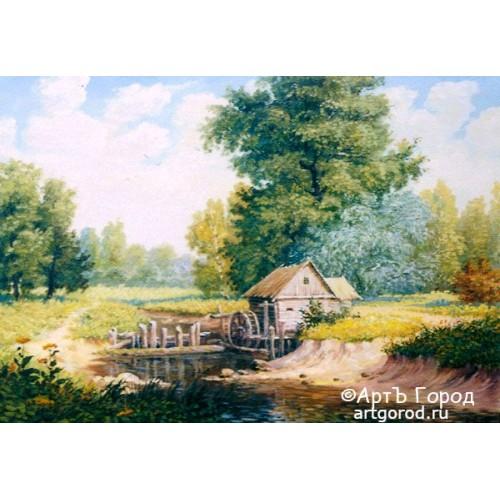 Мельница на реке