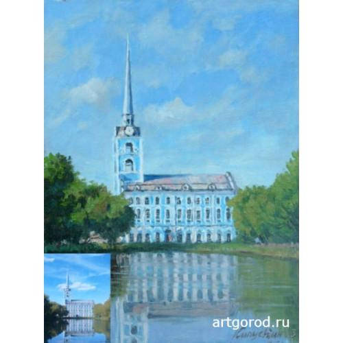 картина по фотографии Церковь Петра и Павла