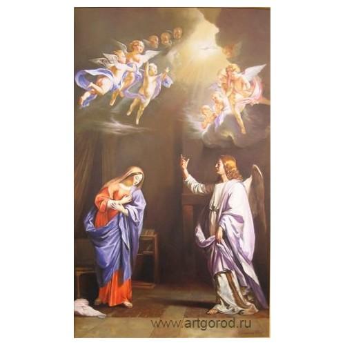"""копия картины Филиппа де Шампань """"Благовещение Пресвятой Богородицы"""""""