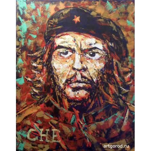 портрет команданте Че Гевара
